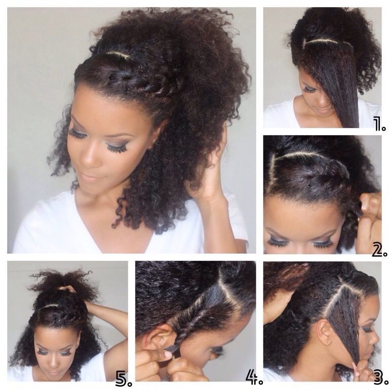 Diy sunday easy natural hair hairstyles yasmin felice natural hairstyles2diys natural hairstyles3diys solutioingenieria Image collections